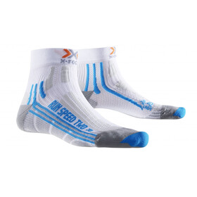 X-Socks W's Run Speed Two Socks White/Turquoise